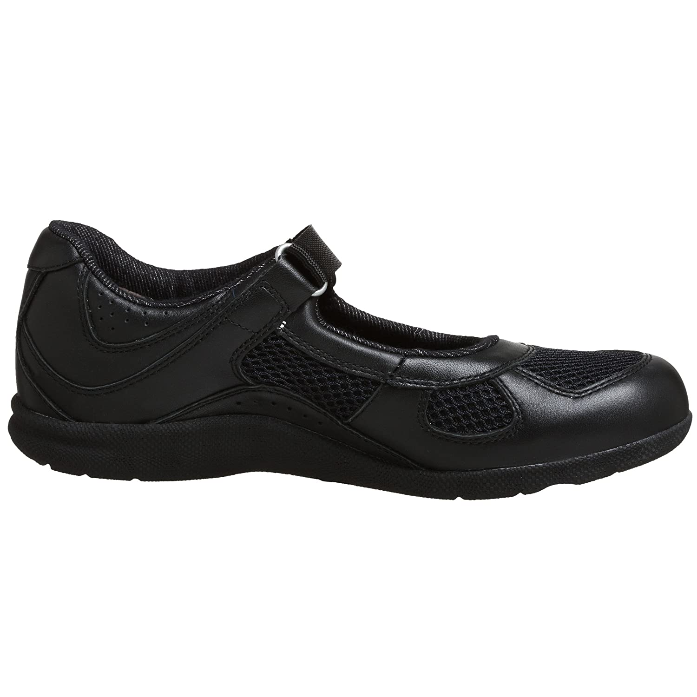 Drew Shoe Women's Delite Mary Jane B0018AODRC 11 W US|Black Calf/Mesh