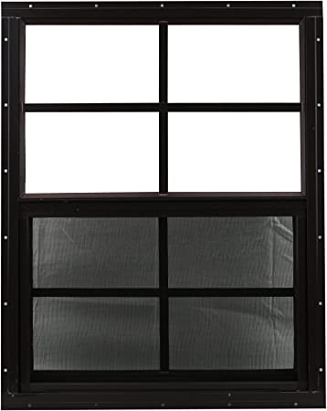 4 each 24 x 36 Shed Window SAFETY TEMPERED GLASS Shed garage storage barn