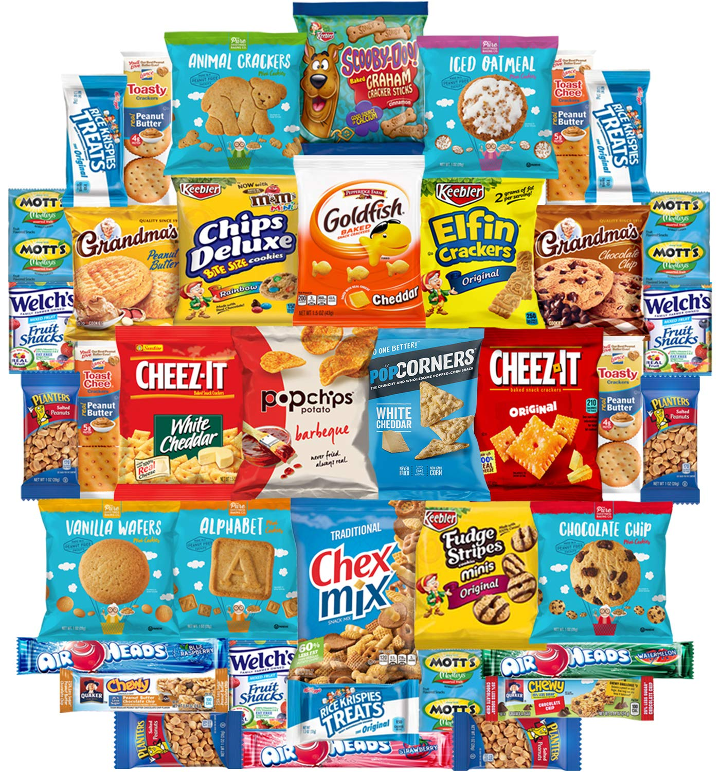 Snacks Generation Mix Variety Pack of Chips, Cookies, Candy, Care Package to Friends and Family (40 Count) by Snacks Generation