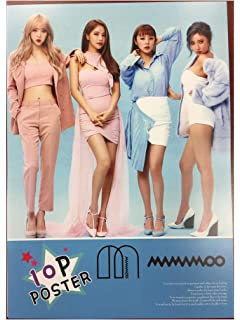 Amazon com: Fanstown Kpop MAMAMOO Yellow Flower Poster A4 Size