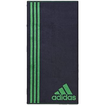 Toalla Adidas Sport Performance con logotipo, Midnight,Green: Amazon.es: Deportes y aire libre