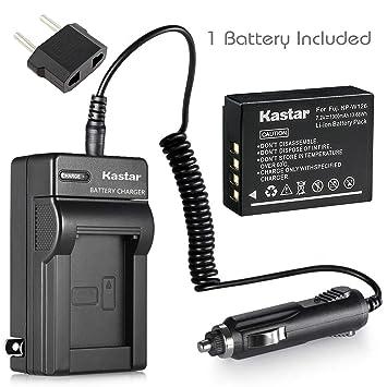 Amazon.com: Kastar Cargador, Batería para NP-W126 – 1 NP ...
