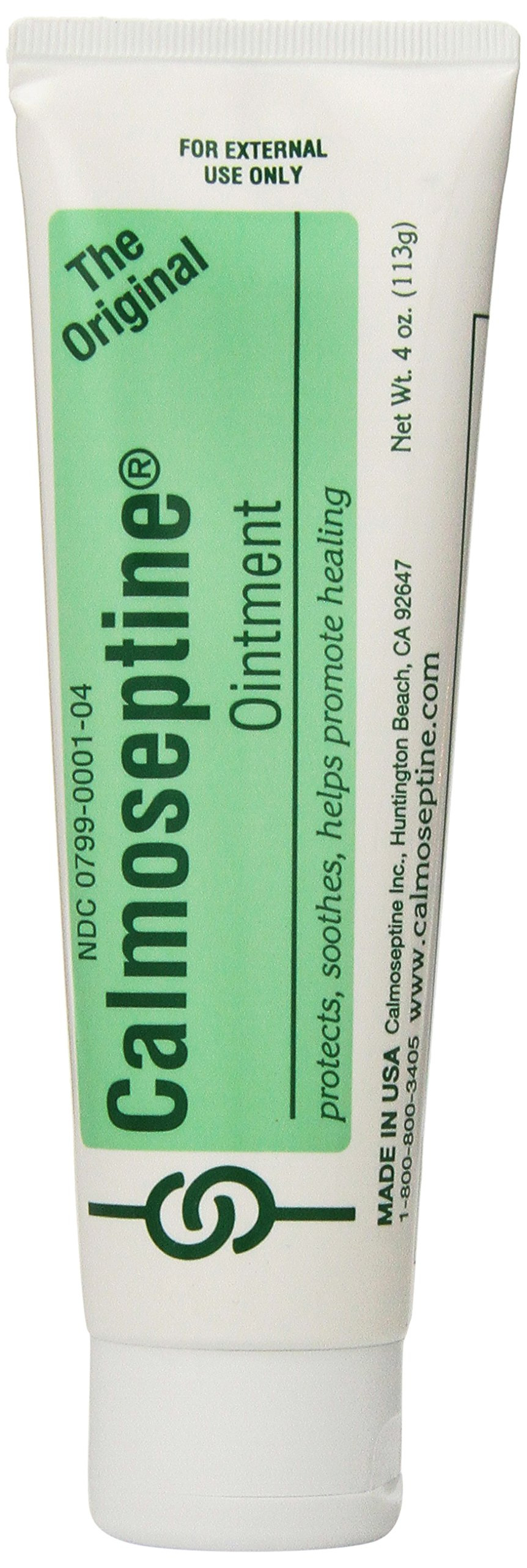 Calmoseptine Ointment Tube, 4 Ounce (Pack of 3) by Calmoseptine