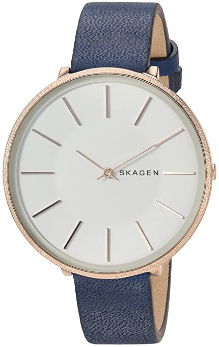 Skagen Karolina Analog White Dial Women's Watch - SKW2723 Women's Watches at amazon