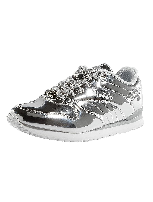 Ellesse Damen Silver Sneaker Heritage City Runner Metallic Runner Silver Damen da0579