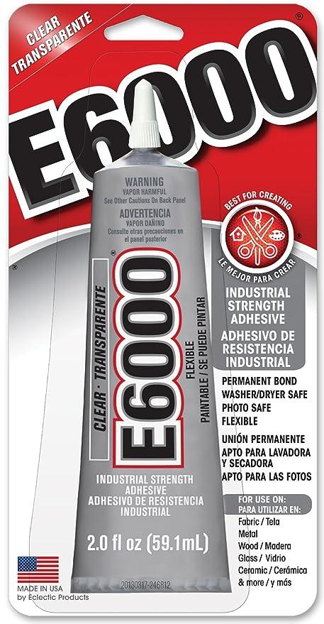 Amazon Com E6000 237032 Craft Adhesive 2 Fl Oz Clear