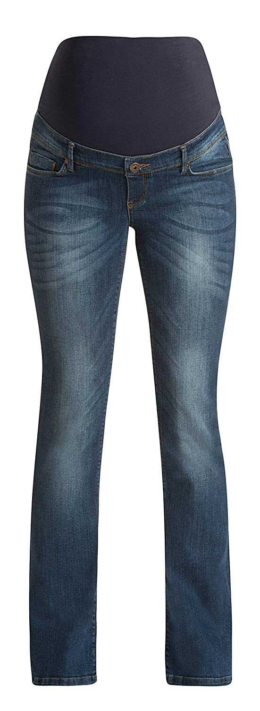 Noppies Damen Jeans Umstandsmode Hose 60028 Boot Cut Umstandsjeans