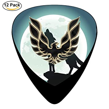Pontiac Firebird Logo Gta Guitar Picks 12 Pack Celluloid Paddles