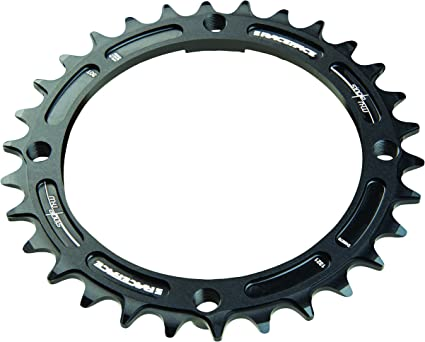 RaceFace Narrow Wide Chainring: 104mm BCD Black 9,10,11 and 12 Speed 32t