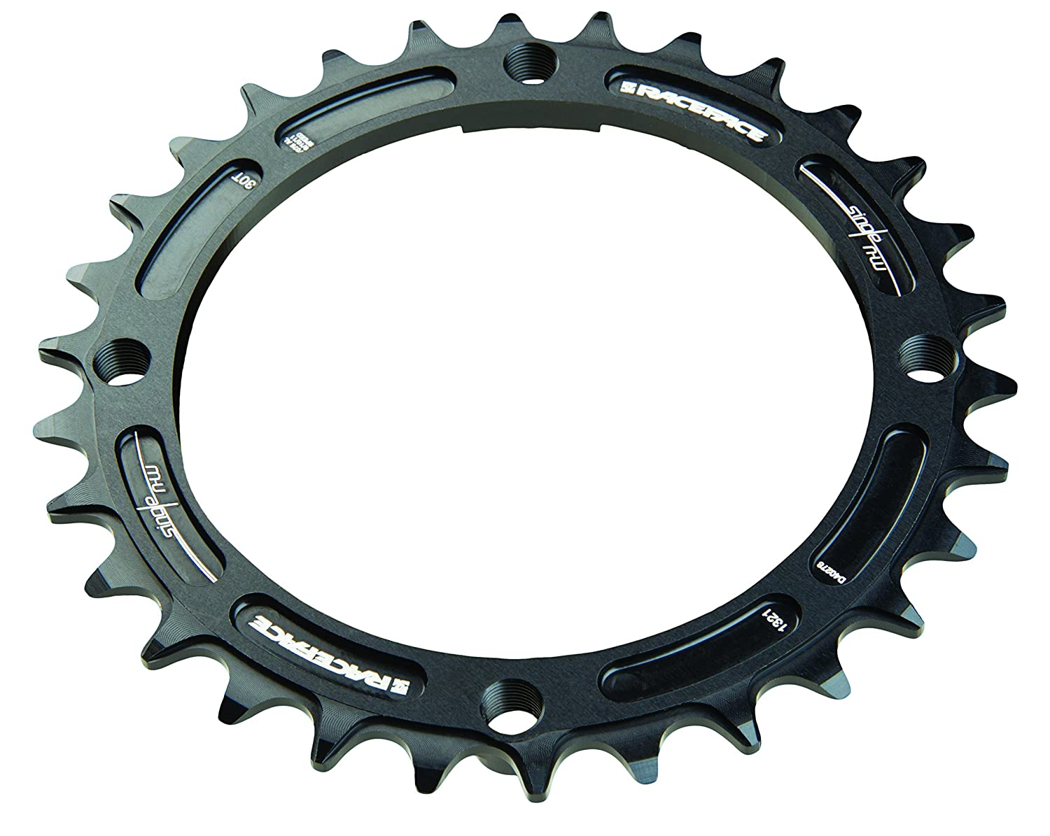 RaceFace Narrow Wide 104 mm BCD Chainring、9 – 12sp B077YDJXYY 34T|ブラック ブラック 34T