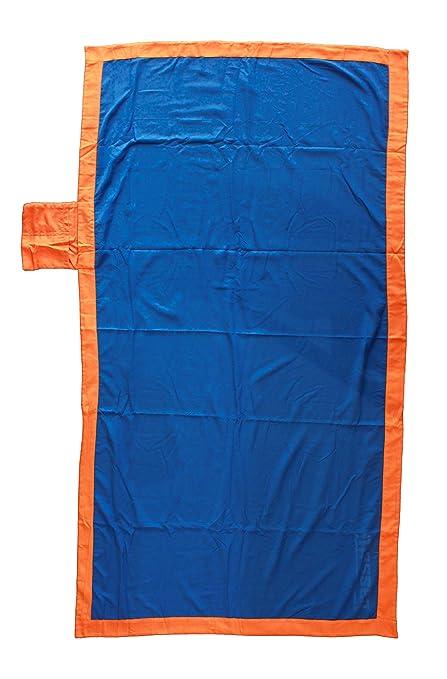 Toalla Playa Piscina Bassetti Time microfibra cm 90 x 170 Multicolor ideal de viaje (Azul