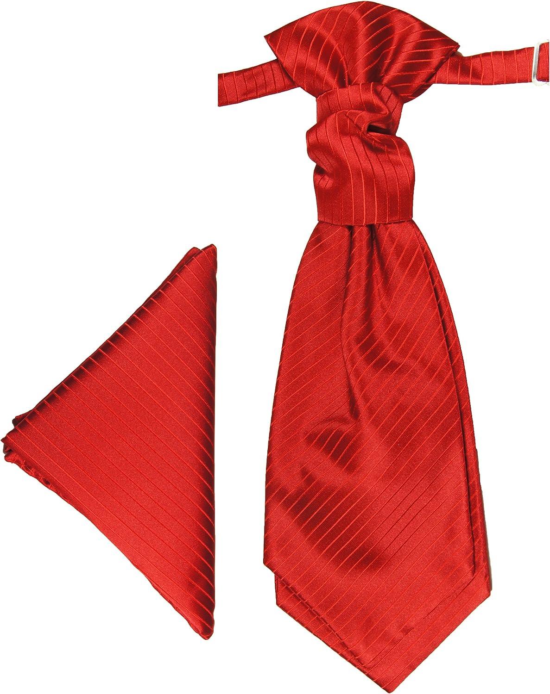 Paul Malone - Corbata de boda - Rayas - Hombre rojo rojo: Amazon ...