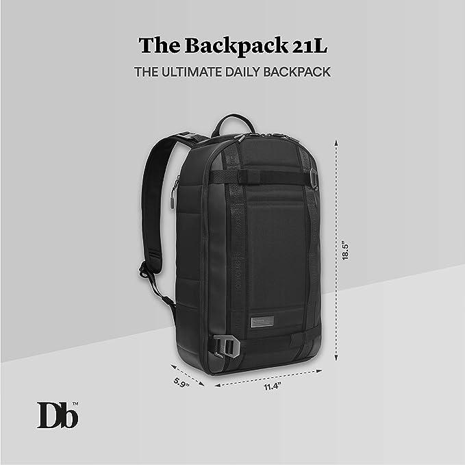 Douchebag Erwachsene The Backpack Rucksack Black Out 21 L Bekleidung