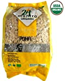 Organic Beaten Rice (Poha - White) - 2 Lbs