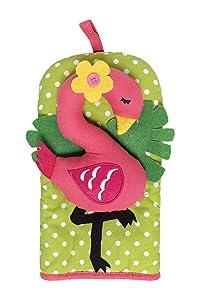 "Ritz Kitchen Friends Novelty Cotton Oven Mitt, Decorative Item Only, Great Housewarming Gift, Kitchen Decoration, Gifts for Women, Gifts for Men, 6"" x 11"", Flamingo, Single Unit"