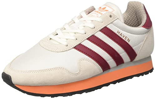 Adidas Haven, Scarpe Running Uomo, Multicolore (Ftwr White/Collegiate Burgundy/Easy