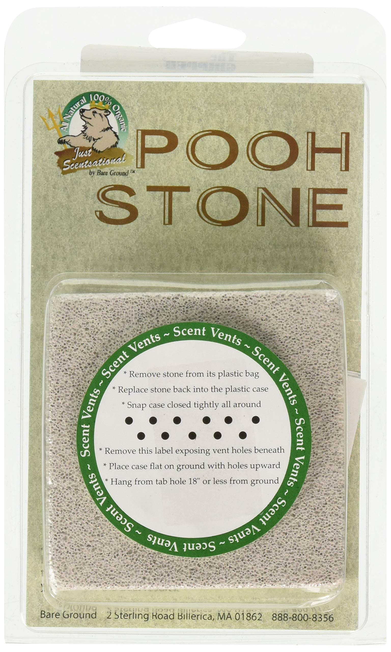 Just Scentsational PS-1 Pooh Stone All Natural Dog Training Device by Just Scentsational