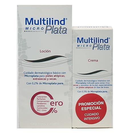Multilind MicroPlata Pack Brote (Locion 200 mililiter y Crema 75 mililiter)