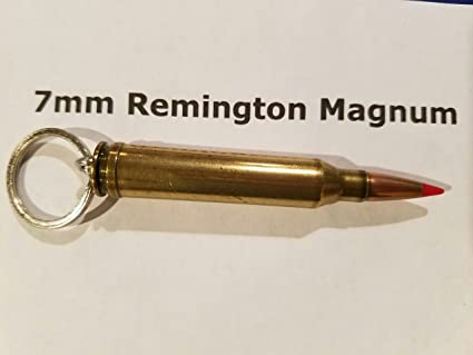 Amazon com : Rifle Caliber Keychains (7mm Rem Mag) : Office