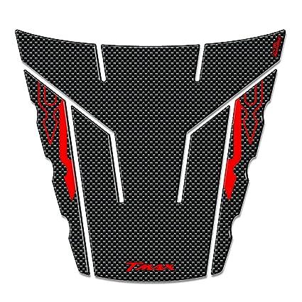 Carbono-Rojo Adhesivo Compatible para Tmax 500 Stickers 3D Coleta para Yamaha T MAX 2008-2011