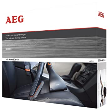 AEG AKIT12 Erweiterungs Set 360° Home U0026 Car Kit, Softbürste, Flexible  Fugendüse