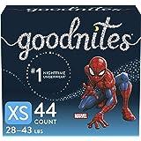 Boys Bedwetting Night Time Underwear, Goodnites, Overnight Training Pants, XS, 44 Ct