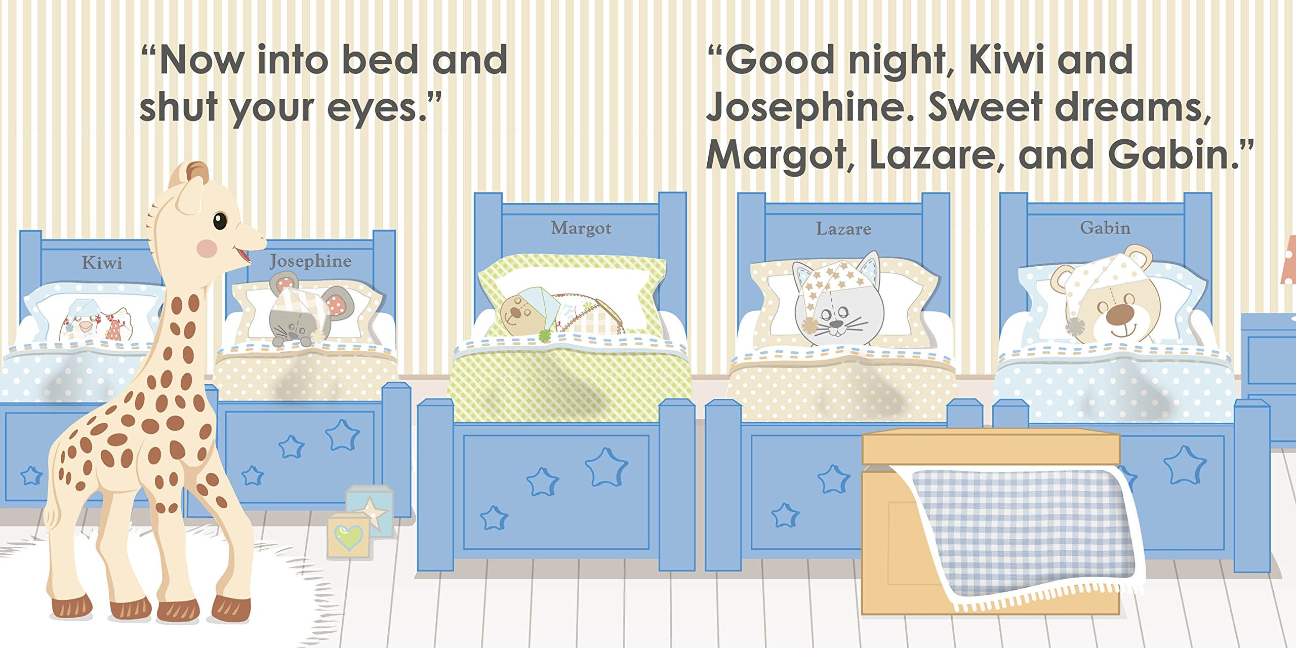 Sophie la girafe good night sophie a touch and feel book dk sophie la girafe good night sophie a touch and feel book dk 9781465456250 amazon books altavistaventures Images