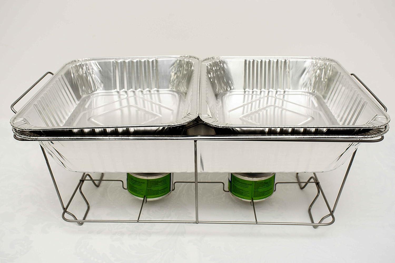 Decor Trader Einweg-Servierplatte, Chafing-Dish, für Catering ...