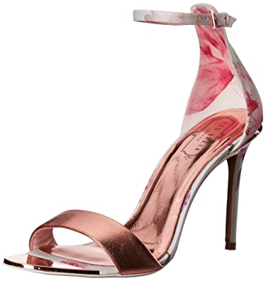 31868aa4f6f5e Amazon.com  Ted Baker Women s Charv Text Af Sketchbook Sandal  Shoes