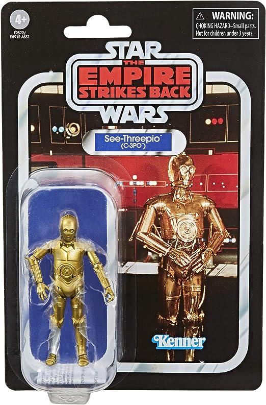 "Lot of 4 Star Wars The Vintage Collection 3.75/"" Figures HAN LUKE C-3PO /& LANDO"