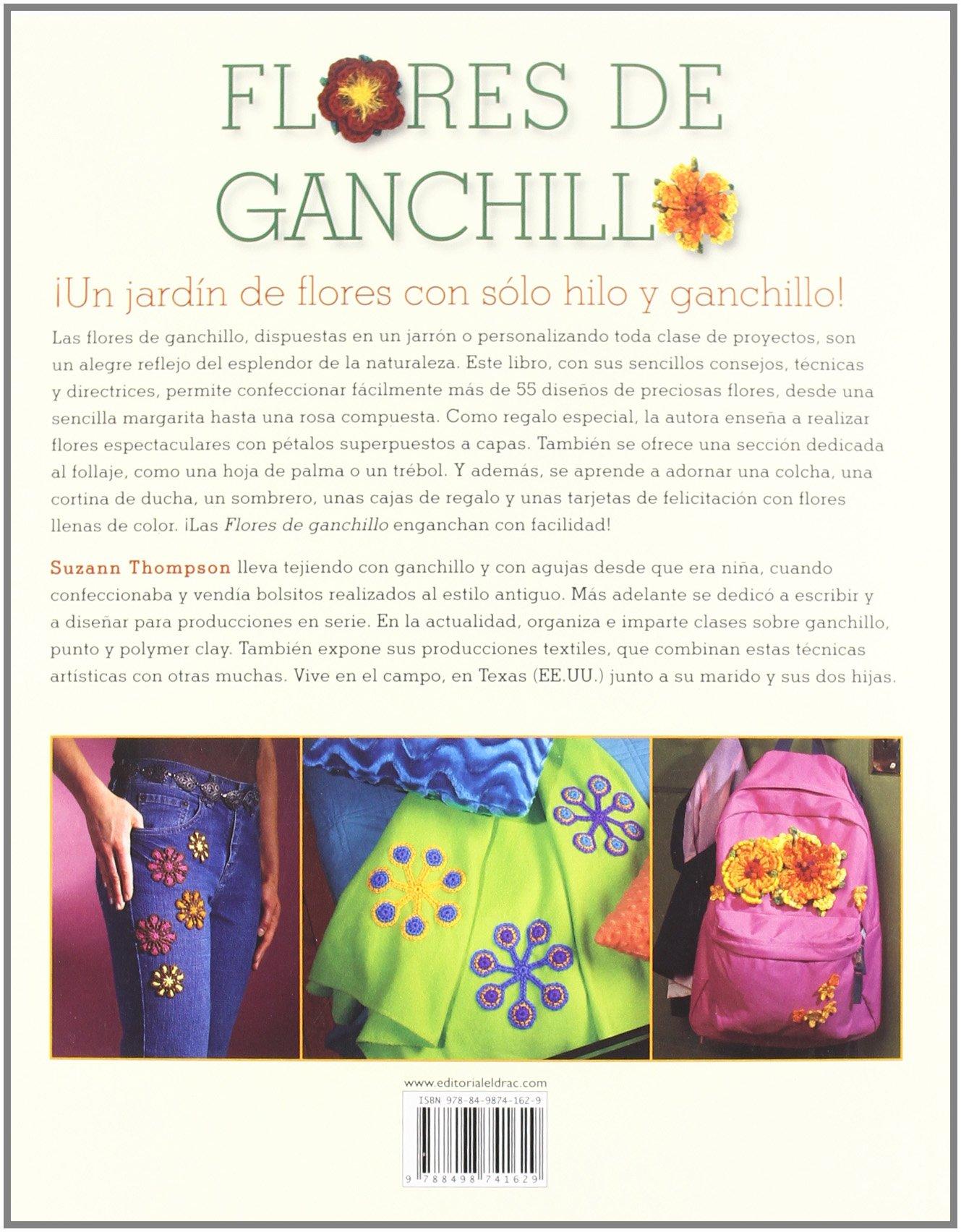 Flores de ganchillo: Amazon.es: Suzann Thompson: Libros