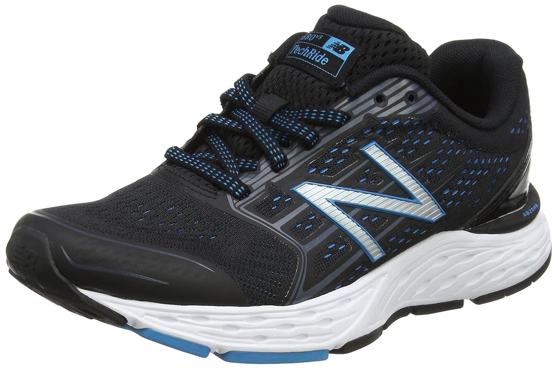 New Balance W680v5, Zapatillas de Running para Mujer 38 EU Negro (Black/Blue)