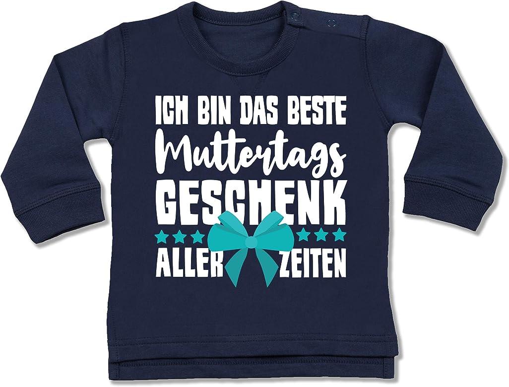Baby T-Shirt Kurzarm Rosa Muttertagsgeschenk Tochter /& Sohn Baby Shirtracer Ich Bin das Beste Muttertagsgeschenk Aller Zeiten