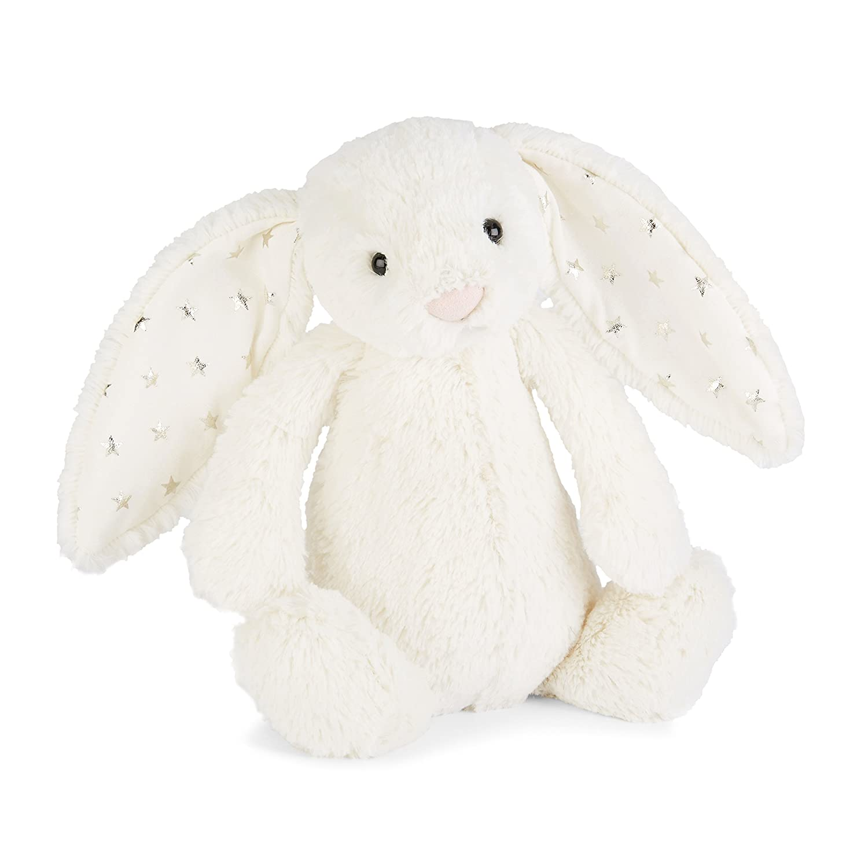 Medium 12 inches Jellycat Bashful Twinkle Bunny Stuffed Animal