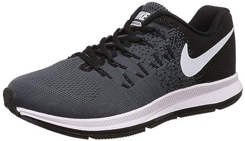 38cb2cd5e625 Nike Men s Air Zoom Pegasus 33 Black Running Shoes - 9 UK India (44 ...