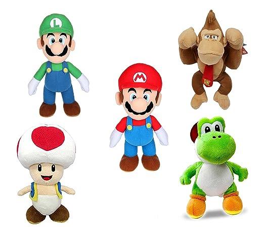 Buy Super Mario Kong Luigi Toad Yoshi Plush Soft Toys 5