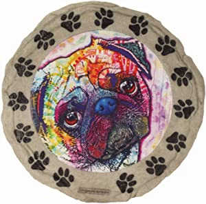 Spoontiques 13293 Dean Russo Pug Stepping Stone