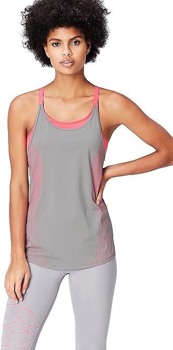TALLA XS. Activewear Camiseta Deportiva para Mujer