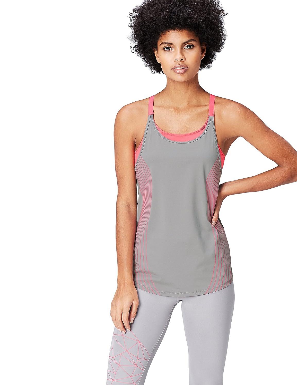 TALLA 38 (Talla del Fabricante: Small). Activewear Camiseta Deportiva para Mujer