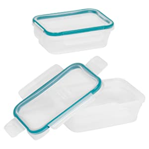 Snapware Total Solution 3-Cup Rectangular Food Storage Container Set (4-Piece)