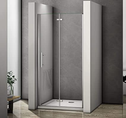 Terrific Perfect 700Mm Frameless Bifold Shower Door 6Mm Glass Shower Enclosure Cubicle Door Download Free Architecture Designs Scobabritishbridgeorg