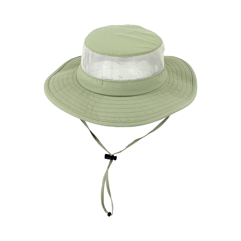8b08348508e99 Amazon.com  Foldable Boonie Fishing UV Sun Hat w Vented Mesh