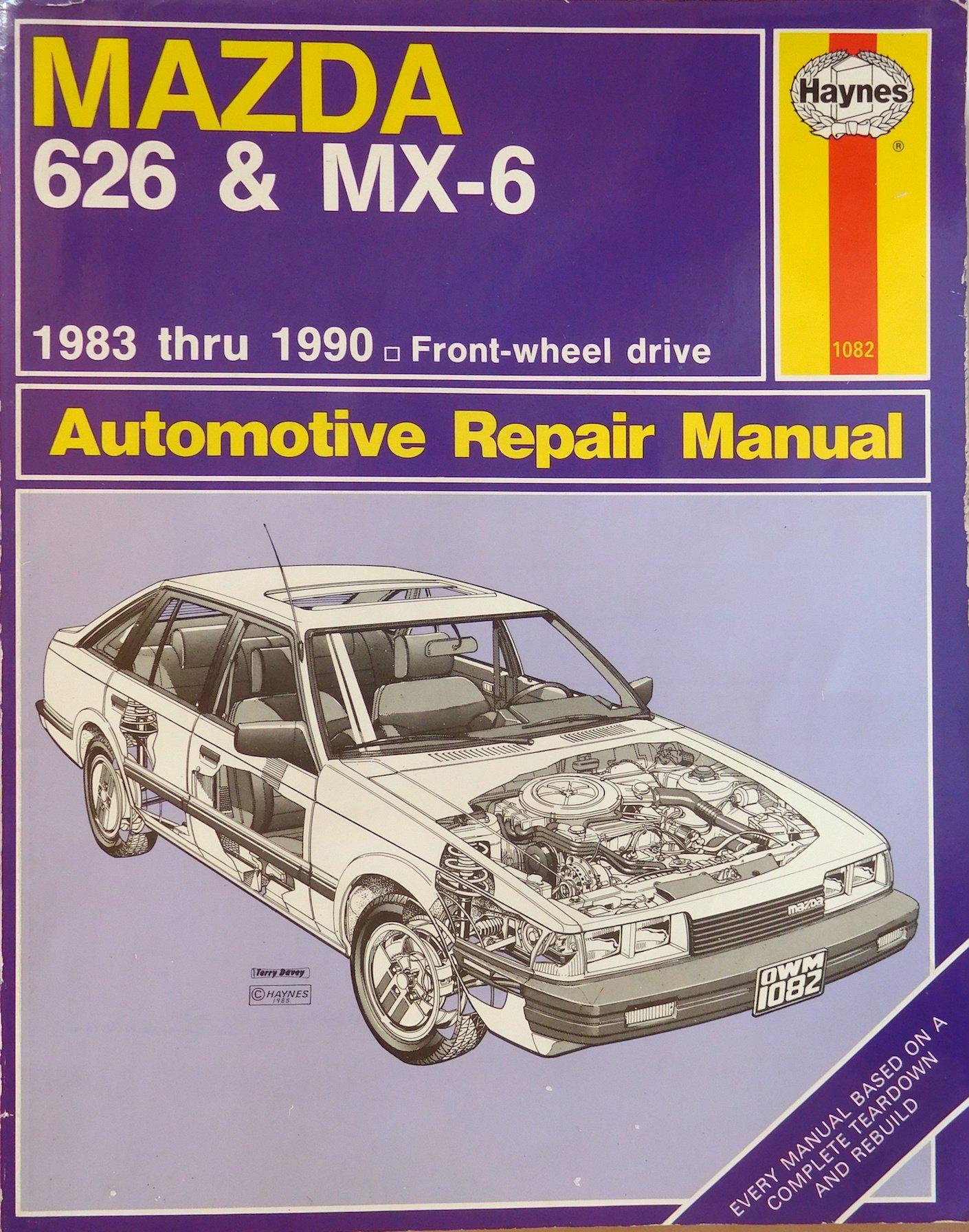 Mazda 626 & MX-6 Automotive Repair Manual: Larry Warren, John H Haynes:  9781850106401: Amazon.com: Books