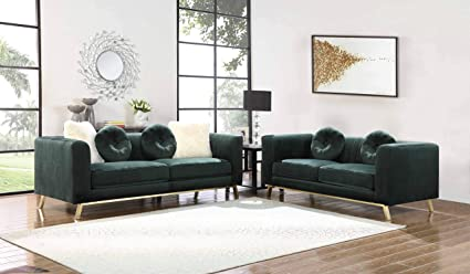 Amazon.com: Best Quality Furniture S451 2PC Sofa and ...
