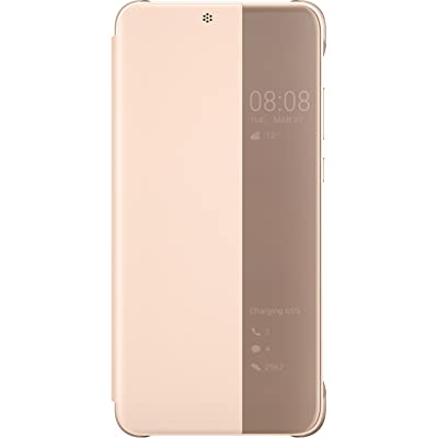 Huawei View Cover - Funda para P20 Pro, Color Rosa