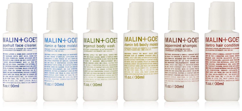 Malin + Goetz Essential Starter Kit, 6 Count