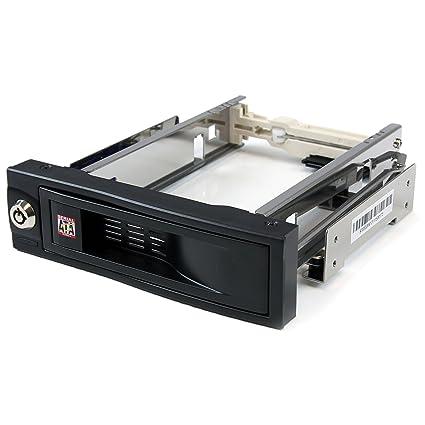 StarTech.com HSB100SATBK - Rack móvil para Disco Duro SATA de 3.5