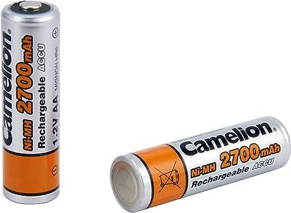 Camelion Mignonakku AA 2700mAh NiMH 4er Packung 4x1,2V 2700mAh NiMH