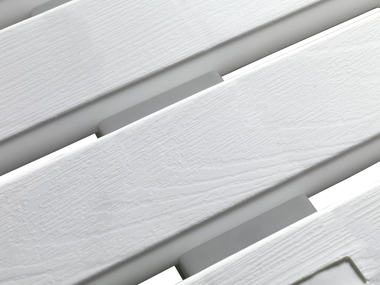 Wenko Tarima De Ba/ño 55.0 x 55.0 x 0.3 cm Blanco