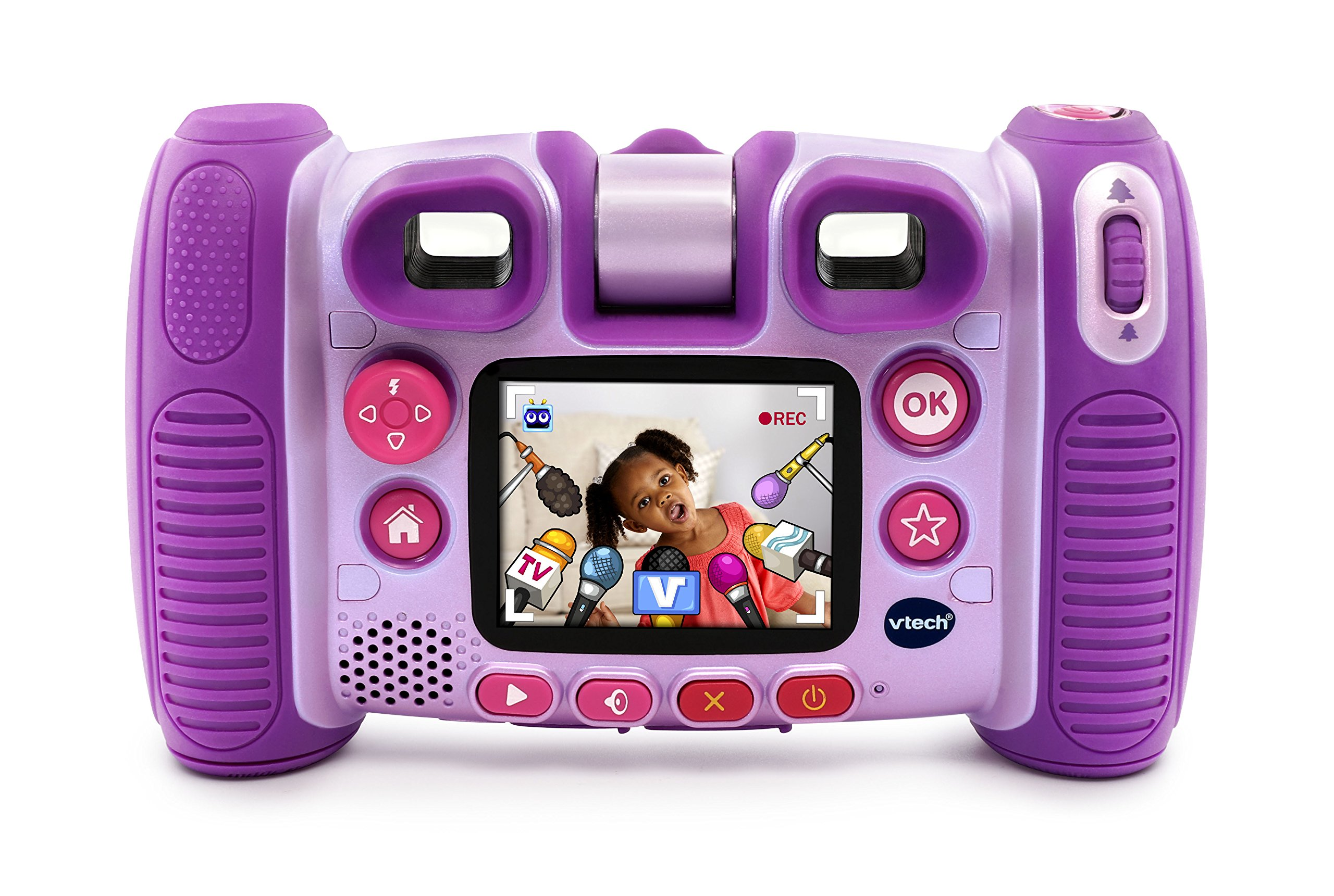 VTech Kidizoom Twist Connect Camera, Purple by VTech (Image #2)
